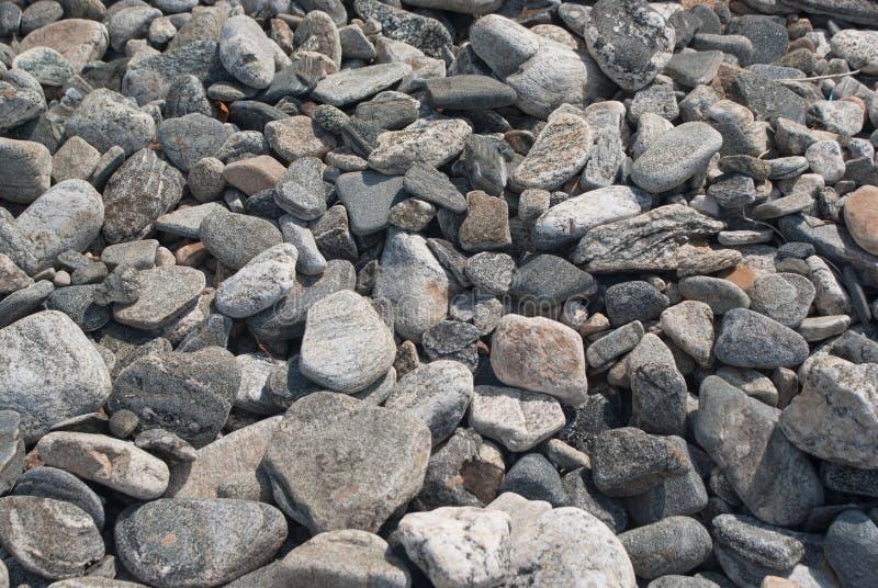 Bazaltowi kamienie zdjęcia stock