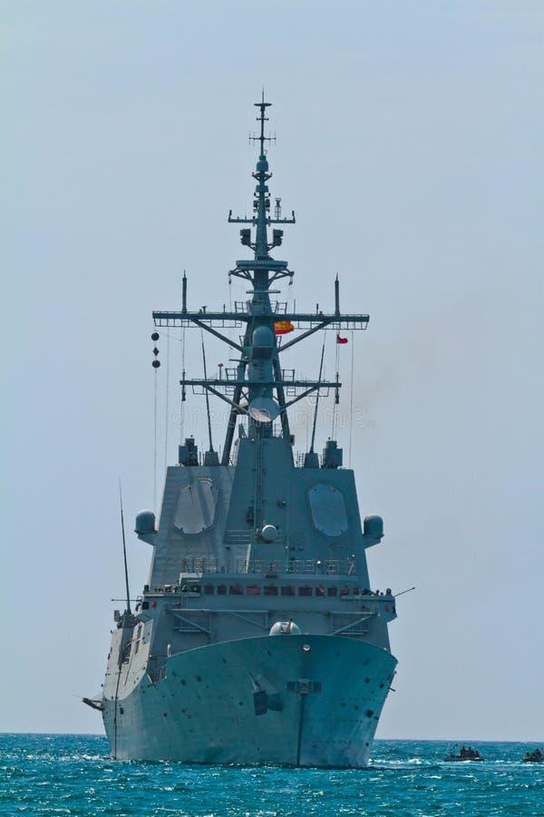 bazan de f frigate för 101 alvaro royaltyfri foto