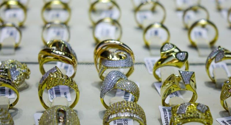 Bazar d'or de Dubaï image libre de droits