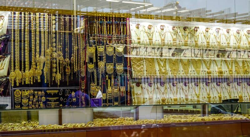 Bazar d'or de Duba? photos stock
