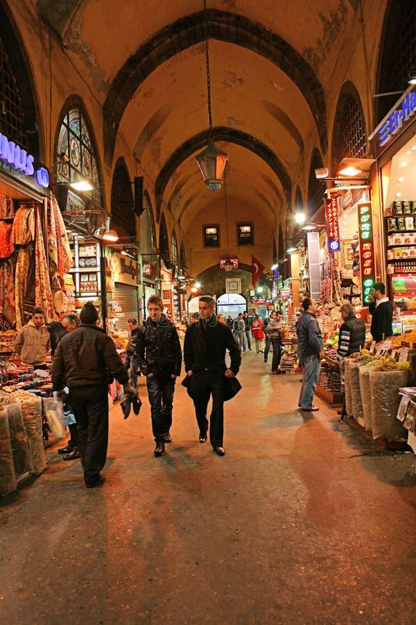 Bazar da especiaria, Istambul, Turquia imagens de stock royalty free