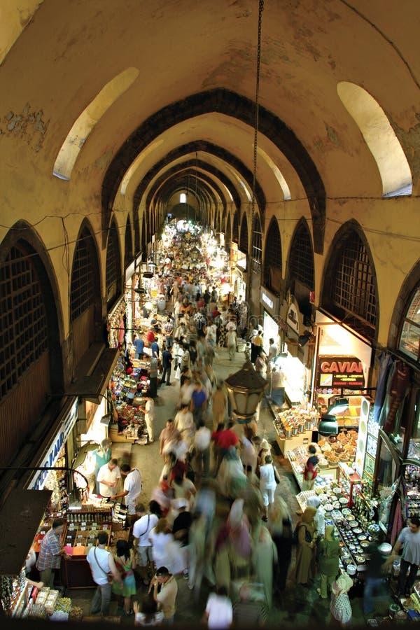 Bazar da especiaria, Istambul, Turquia imagem de stock