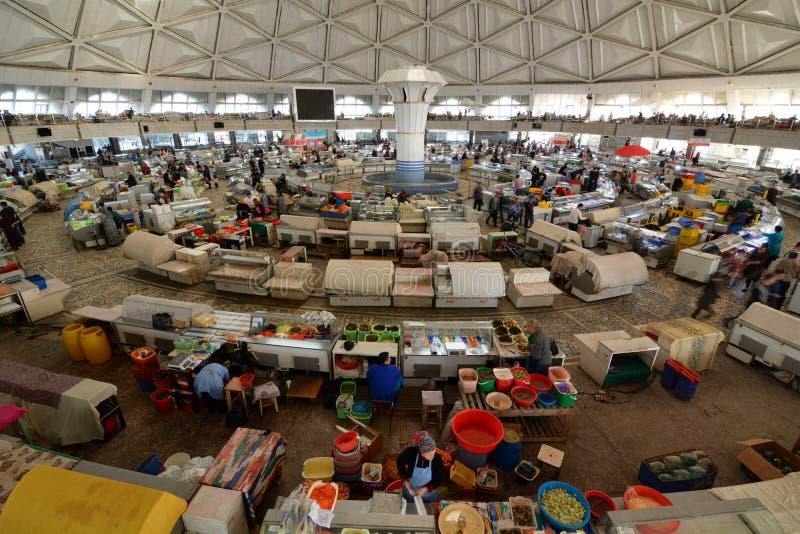 Bazar de Chorsu tashkent uzbekistan images stock