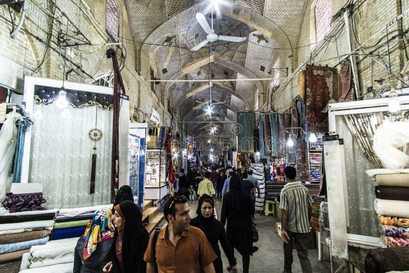Bazar de Isfahán foto de archivo libre de regalías