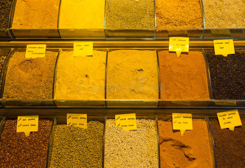 Bazar egípcio e o bazar grande fotografia de stock