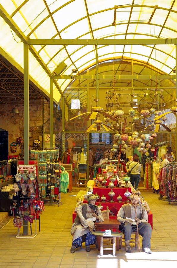 Bazar em Antalya, Turquia fotos de stock royalty free