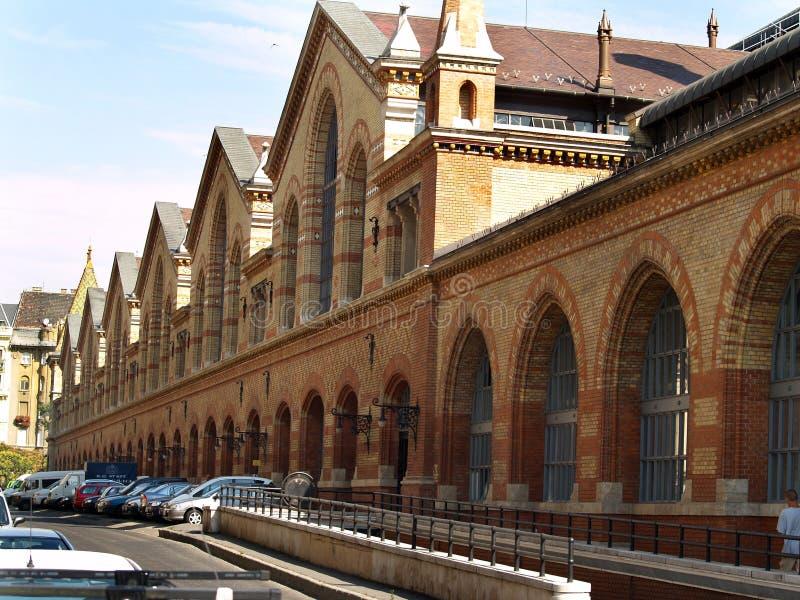 Bazar en Budapest. Hungría fotografía de archivo libre de regalías
