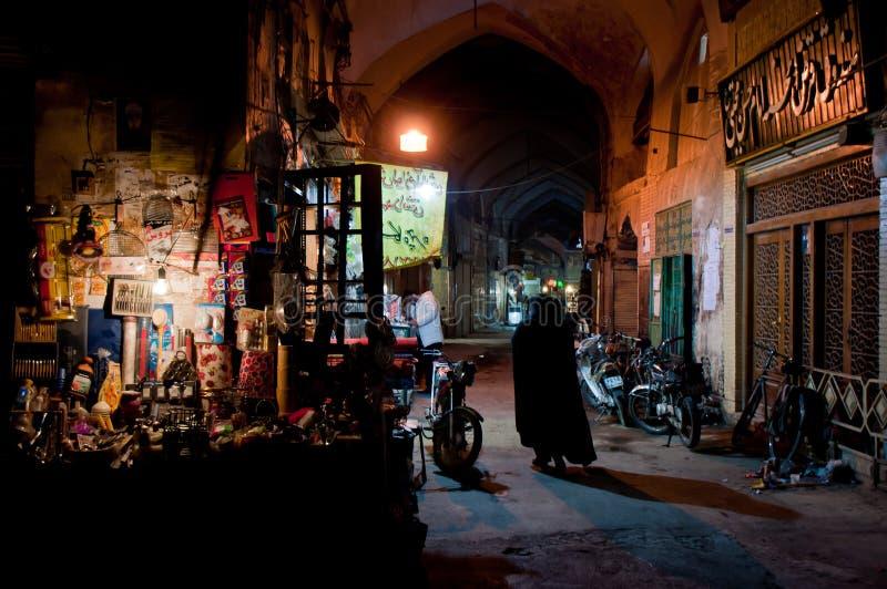 Bazar in Esfahan stockfoto