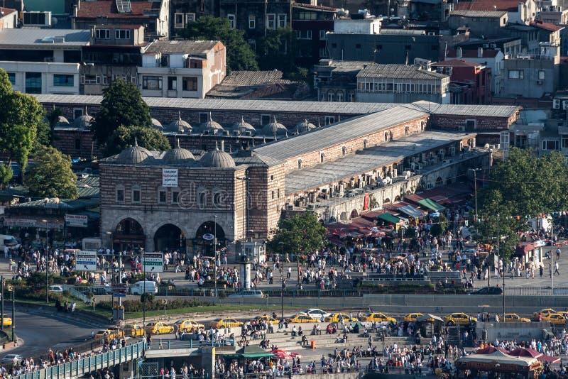 Bazar Estambul Turquía de la especia fotografía de archivo