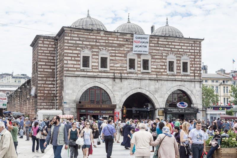Bazar Estambul Turquía de la especia fotos de archivo