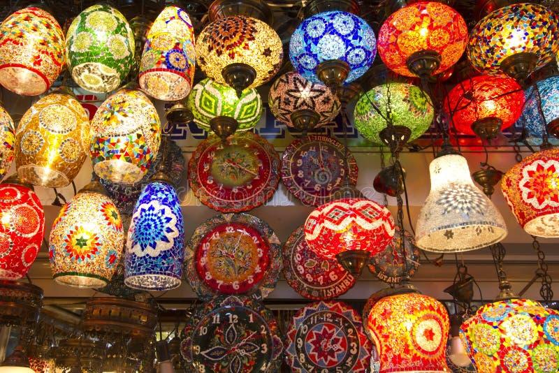 Bazar grand, Istanbul image stock