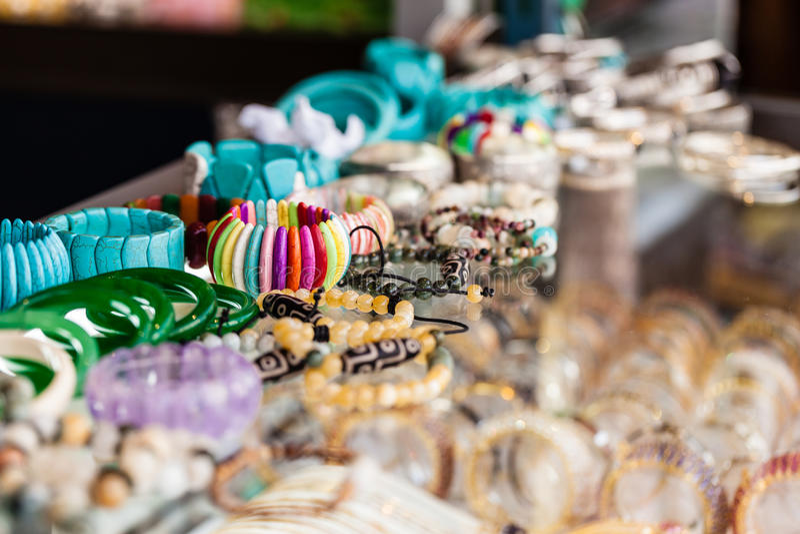 Bazar grande de Istambul - loja de jóia fotografia de stock