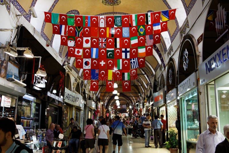 Bazar grande Istambul fotografia de stock royalty free