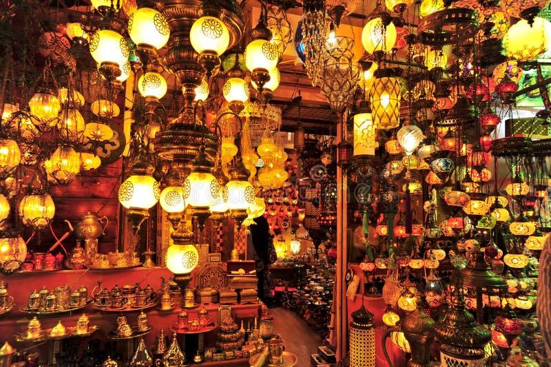 Bazar grande, Istambul foto de stock royalty free