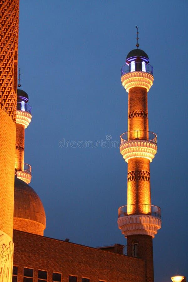 Bazar international de Xinjiang grand photographie stock libre de droits