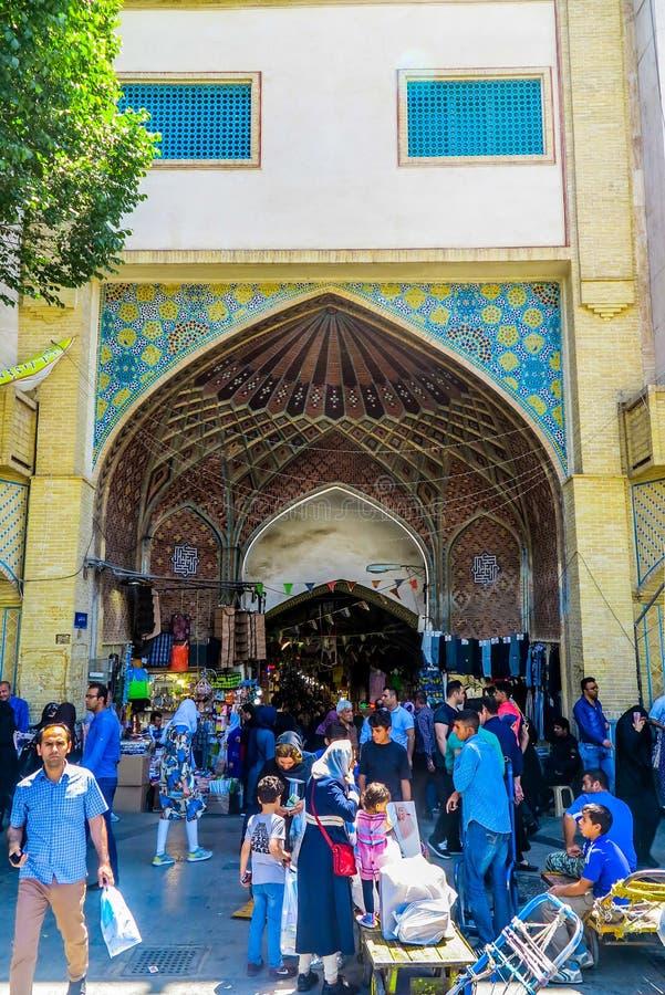 Bazar magnífico 03 de Teherán imágenes de archivo libres de regalías