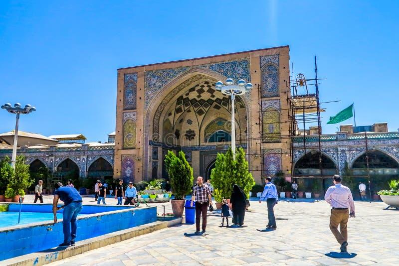 Bazar magnífico 11 de Teherán imagenes de archivo