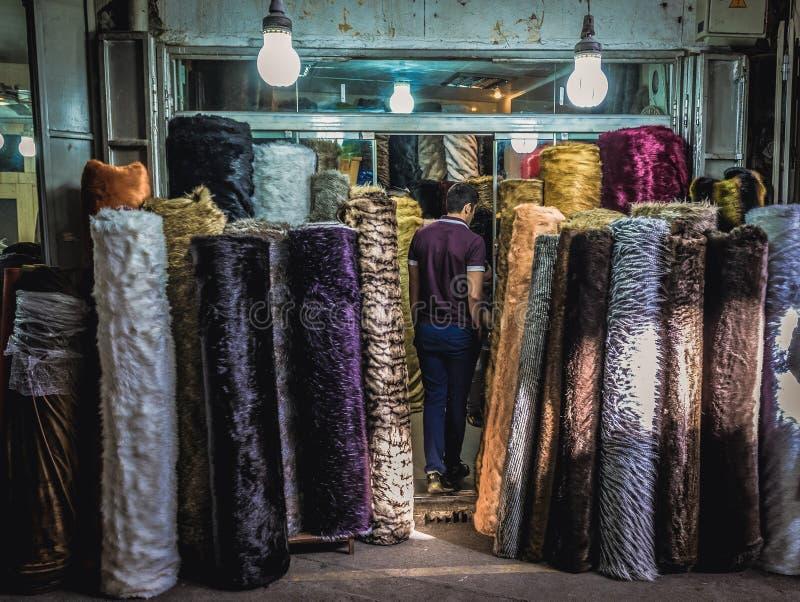 Bazar magnífico en Teherán fotografía de archivo