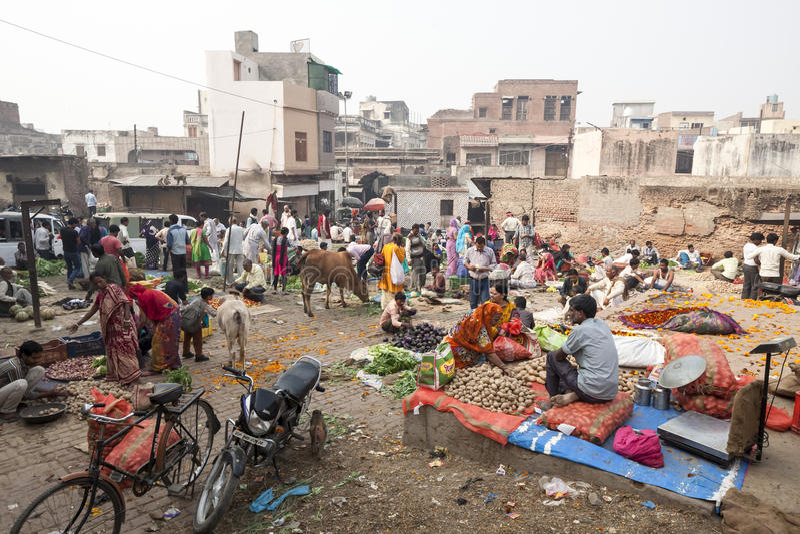 Bazar populaire authentique urbain de Loi de rue photographie stock libre de droits
