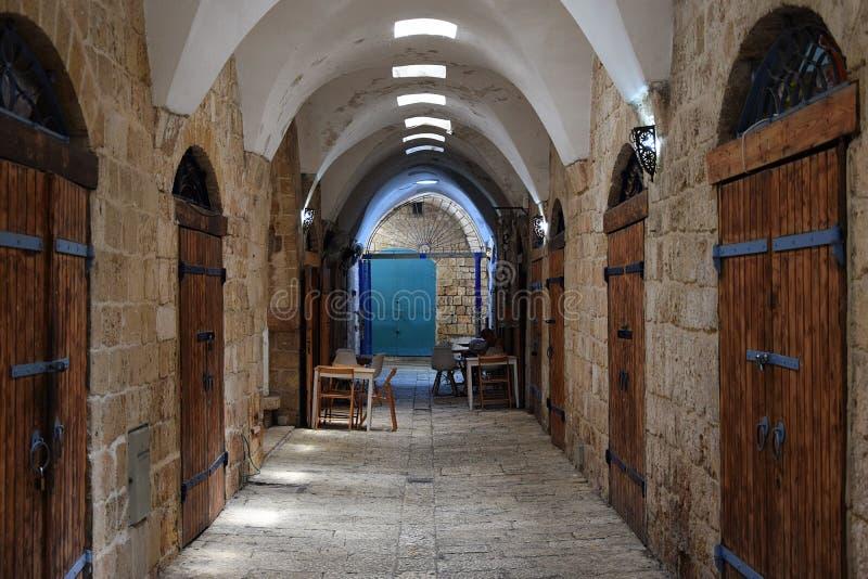 Bazar turco en acre, Israel fotos de archivo