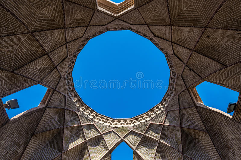 Bazar in Yazd fotografia stock