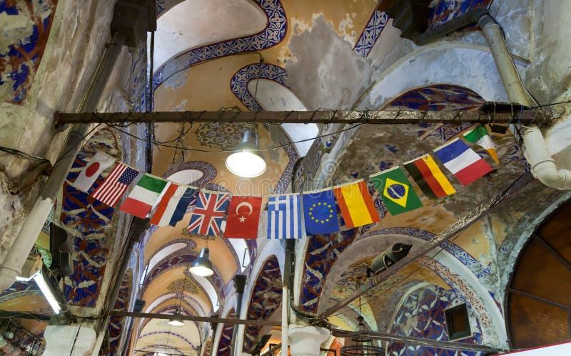 bazar zaznacza uroczystego Istanbul obraz stock