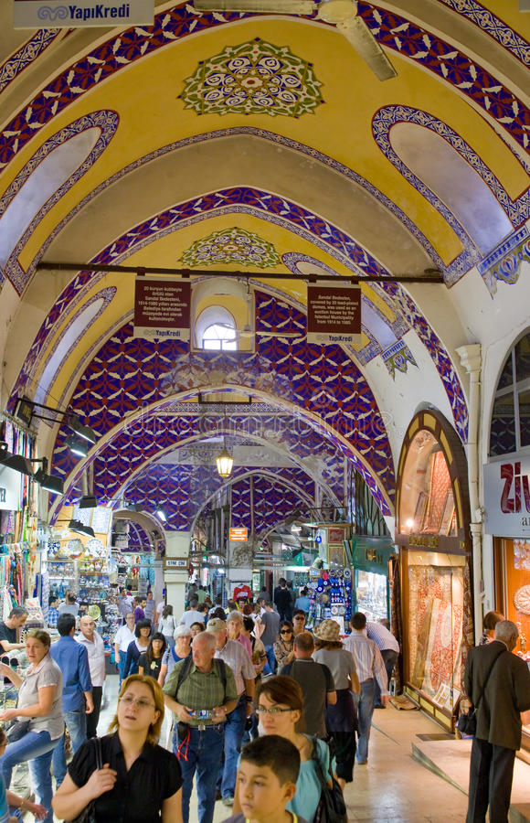 bazaru turysta uroczysty targowy fotografia stock