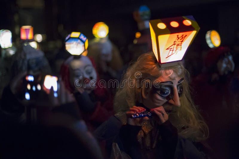Bazel Carnaval 2015 51 royalty-vrije stock afbeelding