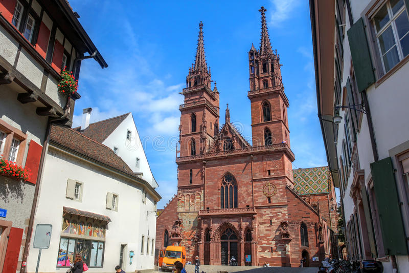 Bazel, Zwitserland stock afbeelding