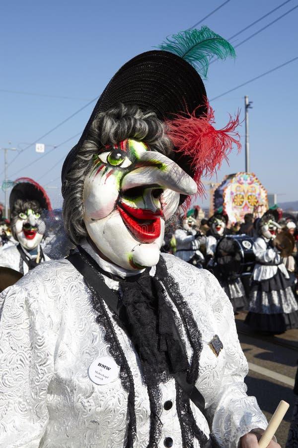 Bazel (Zwitserland) - Carnaval 2013 royalty-vrije stock afbeeldingen