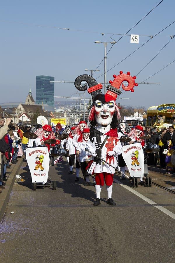 Bazel (Zwitserland) - Carnaval 2013 royalty-vrije stock afbeelding
