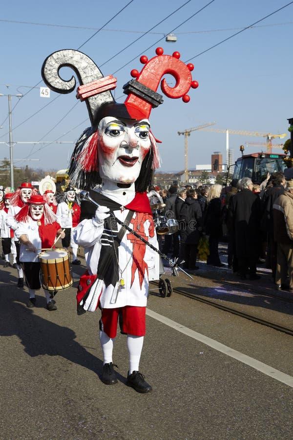 Bazel (Zwitserland) - Carnaval 2013 royalty-vrije stock fotografie