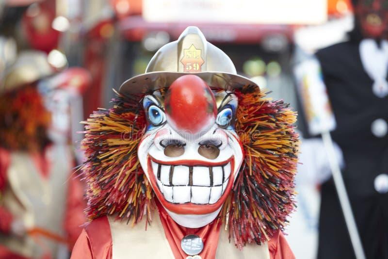 Bazel (Zwitserland) - Carnaval 2013 stock afbeelding
