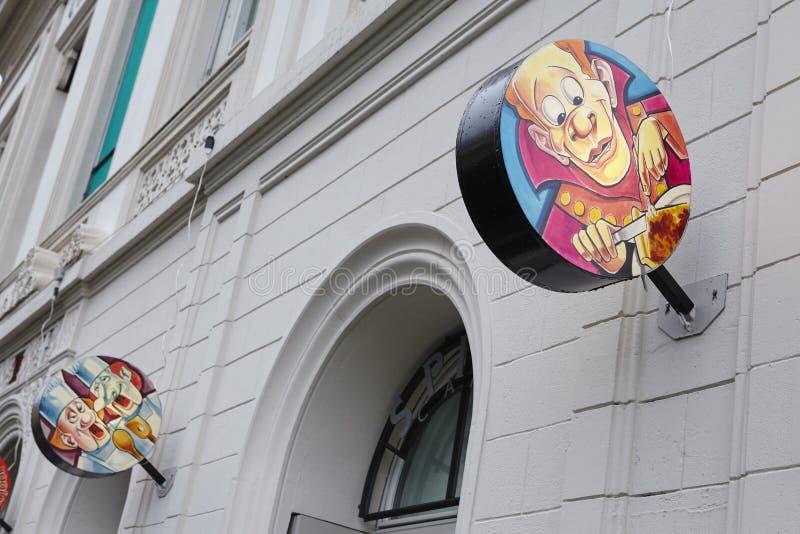 Bazel (Zwitserland) - Carnaval 2016 stock afbeelding
