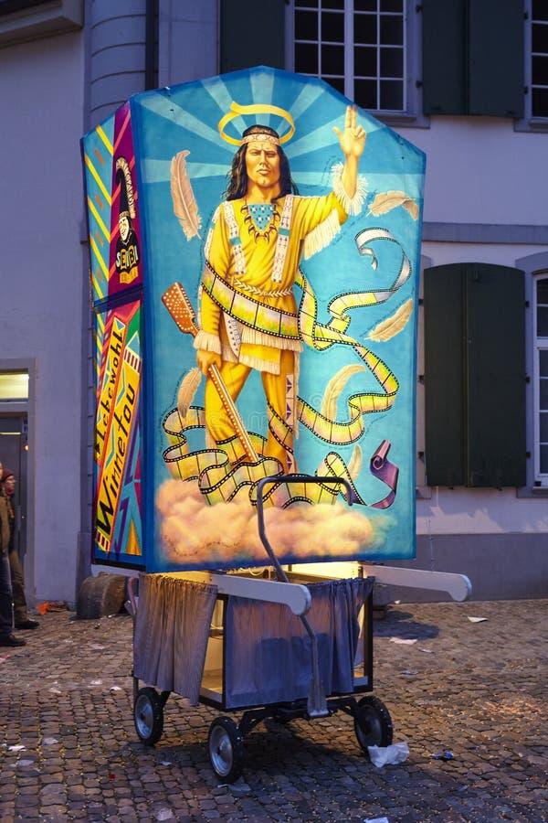 Bazel (Zwitserland) - Carnaval 2016 royalty-vrije stock foto