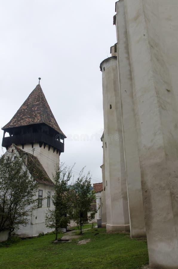 Bazna stärkte kyrkan fotografering för bildbyråer