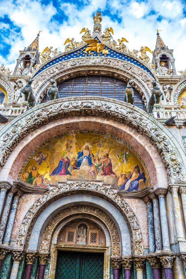 Bazylika Å›w. Marka - Wenecja, Wenecja, WÅ'ochy, Europa zdjęcia royalty free