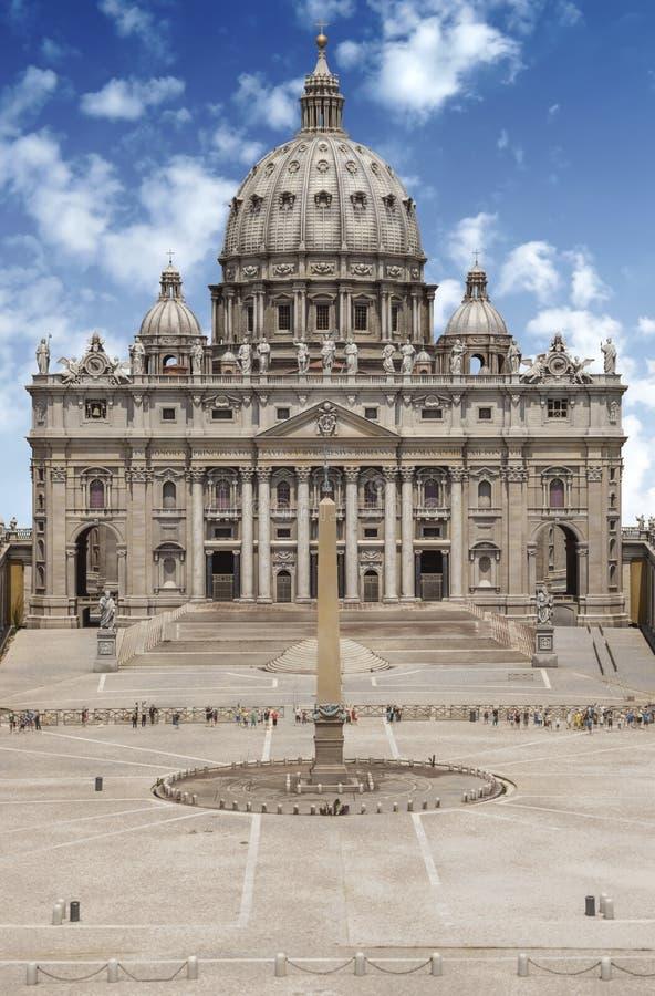Bazylika św. Piotra w Pradze zdjęcia stock
