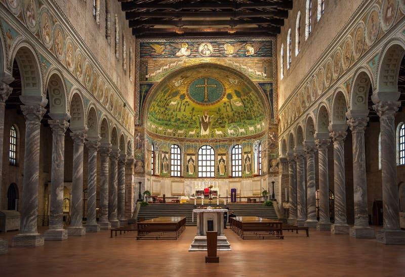 Bazylika święty Apollinaris w Classe, Włochy obraz stock
