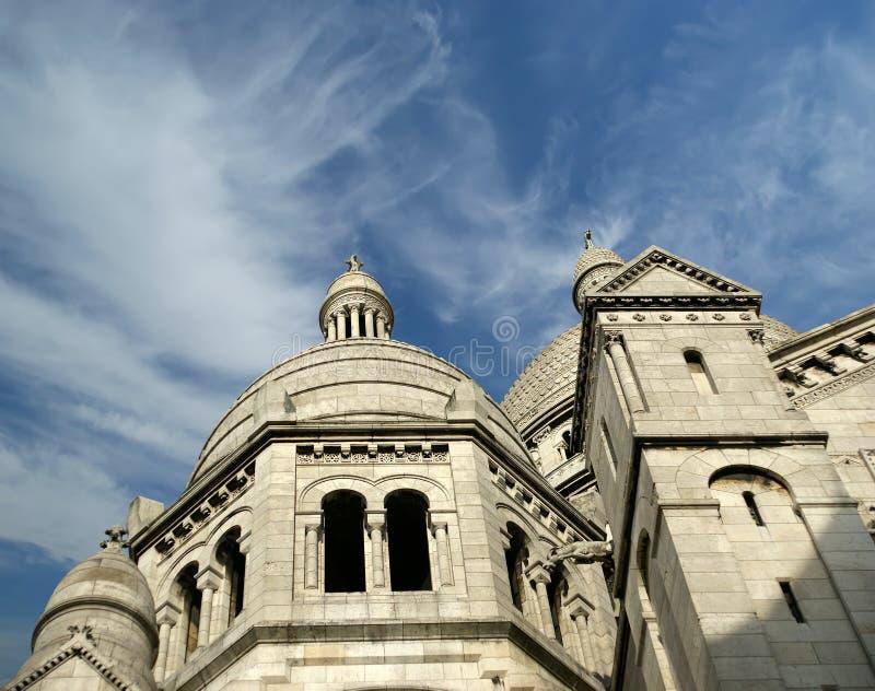 bazylika święty kierowy Paris fotografia stock