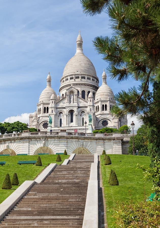 bazylika święty kierowy Paris obraz royalty free