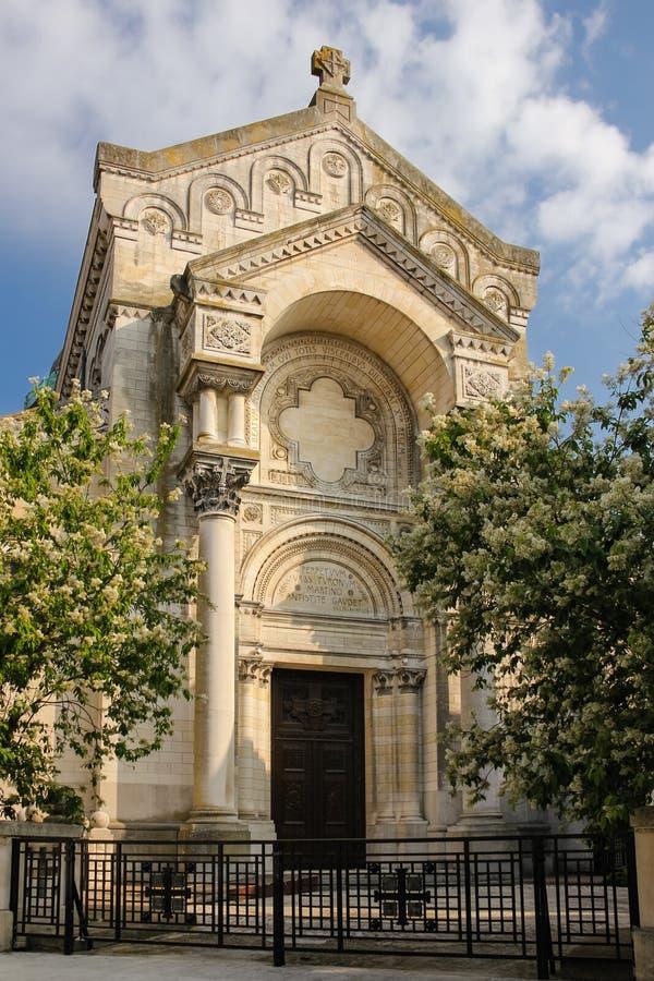 Bazylika święty Martin De Objeżdżający tours Francja obrazy royalty free