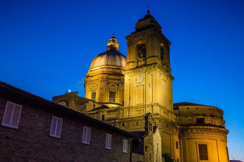 Bazylika święty Mary Assisi, Włochy zdjęcie stock