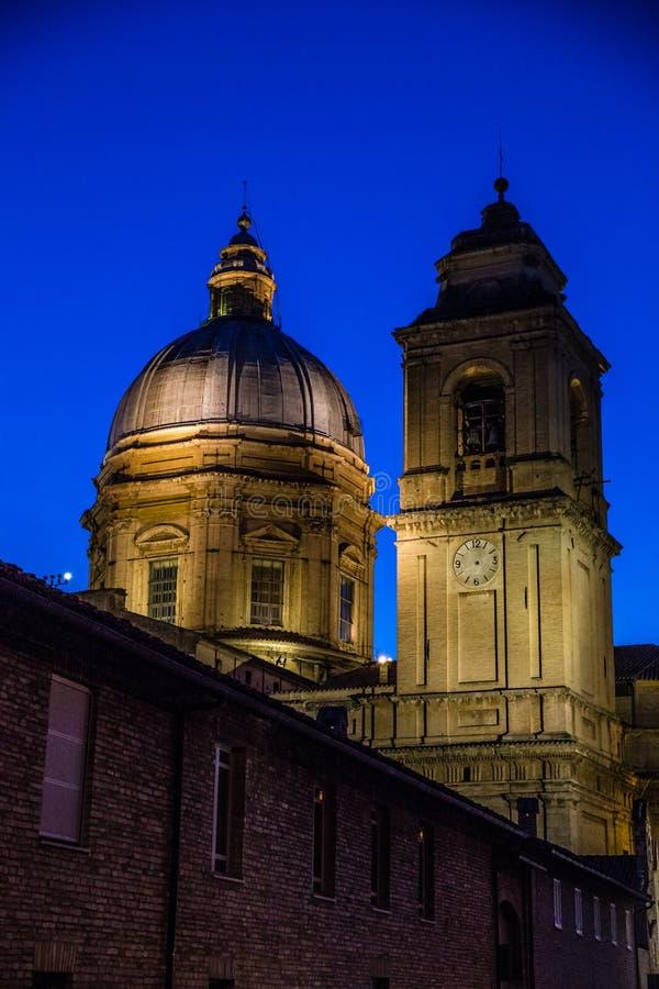 Bazylika święty Mary Assisi, Włochy zdjęcie royalty free