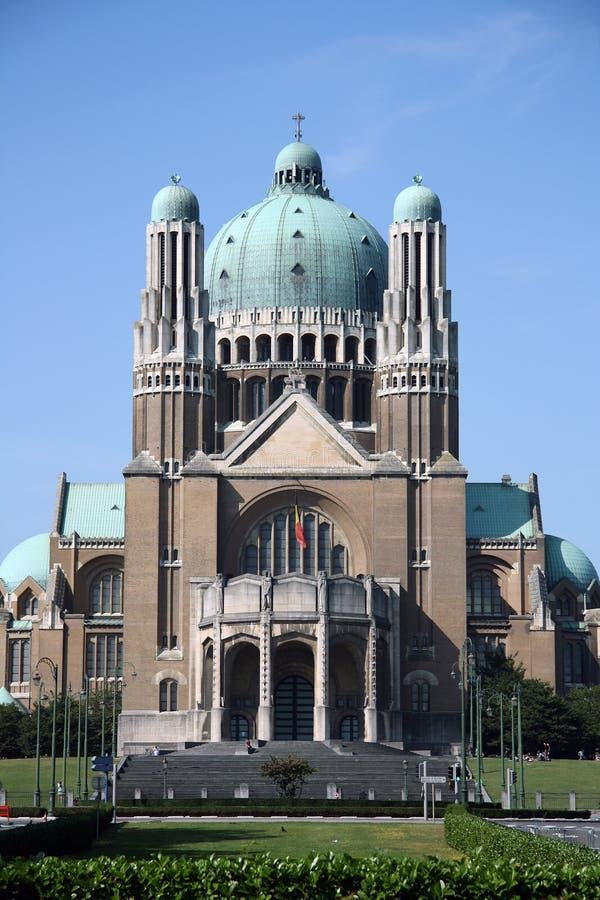 Bazylika Święty Serce, Bruksela obrazy royalty free