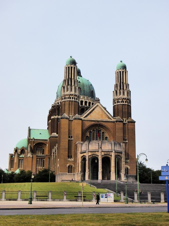 Bazylika Święty serce w Bruksela fotografia stock