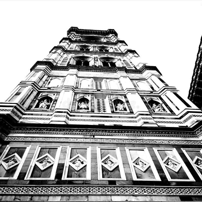bazylika Artystyczny spojrzenie w czarny i biały zdjęcie royalty free