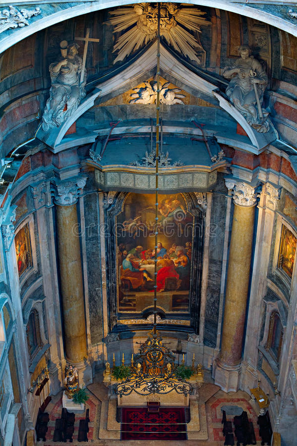 Download Bazylika De Estrela, Lisbon Obraz Stock - Obraz złożonej z kościół, lisbon: 53783149