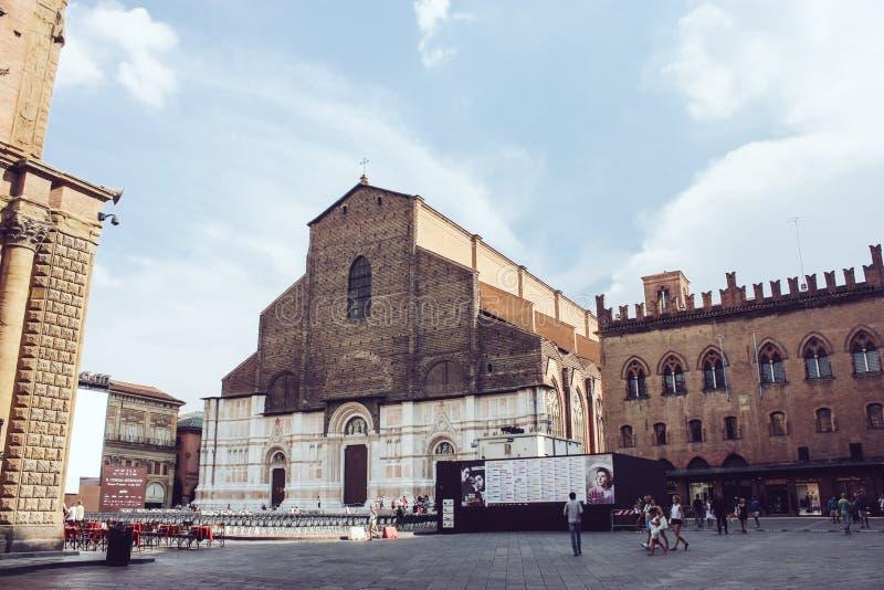 Bazylika Di San Petronio, Bologna obrazy royalty free