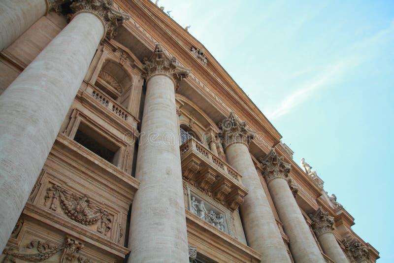 Bazylika Di San Pietro w Vaticano zdjęcie stock